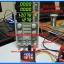 1x Digital DC 0-200V 10A Voltmeter Ammeter Red Blue module thumbnail 2