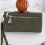 กระเป๋าสตางค์ หนังกลับ สี Olive green (เขียวขี้ม้า) thumbnail 1