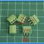 5x SCREW TERMINAL BLOCK 3 PINS Pitch 3.5 mm 300V/10A GREEN COLOR thumbnail 2