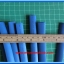 1x Heat Shrink Tube 8.0mm Blue Color Length 1 meter (ท่อหด 8.0มม ) thumbnail 2