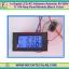 1x Digital LCD AC Voltmeter Ammeter 80-300V 0- 100 Amp Panel Module (Black Color) thumbnail 1