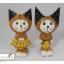 ตุ๊กตาไม้แมวคู่ ชาย-หญิง thumbnail 5