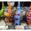 ตุ๊กตาแมวไม้สำหรับสวมแหวน (ชุดมี 4 ตัว) thumbnail 12