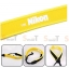 สายคล้องกล้อง Nikon White on Yellow Neck Strap Neoprene thumbnail 2