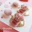 เลือกสีด้านในค่ะ ต่างหู Lux Velvet Heart Korea ER4512 thumbnail 13