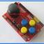 1x JoyStick Keypad Shield Module for Arduino nRF24L01 Nokia5110 LCD I2C (RED PCB) thumbnail 3