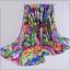 ผ้าพันคอชีฟอง หลากสีโทนม่วง thumbnail 2