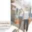 เสื้อคู่ เสื้อคู่รัก ชุดคู่รัก เสื้อคู่รักแขนยาวเกาหลี ผู้หญิง + ผู้ชาย เสื้อยืดกึ่งเสื้อเชิ้ตแขนยาว สีขาวลายเส้นขวางสีดำ แขนเสื้อผ้ายีนส์นิ่มดีไซน์แบบแขนเสื้อเชิ้ต thumbnail 5