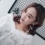 เลือกสีด้านในค่ะ ต่างหู Long Pearl Ribbon Korea ER6314 thumbnail 15