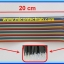 1x Jumper (M2M) cable wire 40pcs 2.54mm 20cm Male to Male thumbnail 2