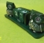 ปฏิทินไม้แกะสลักรูปนกฮูกคู่ (ไซส์ M) สีเขียว แบบ B thumbnail 2