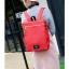 กระเป๋าเป้ Pocket Flap style สีแดง thumbnail 1
