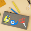 STATIONERY DOUBLE ZIPPER PENCIL CASE thumbnail 2