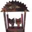 ตุ๊กตาไม้แมวคู่บนชิงช้า แบบ A thumbnail 6