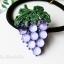 เลือกลายด้านในค่ะ รัดผม Jewel Fruity Korea HR96677 thumbnail 6
