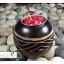 เชิงเทียนไม้มะม่วงทรงกลม DecorLike รุ่น WC-005 thumbnail 1