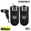 Wireless Flash Trigger Yongnuo RF-603N ii for Nikon N1 thumbnail 1