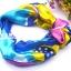 ผ้าพันคอผ้าซาติน Colorful Style thumbnail 1