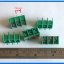 5x Terminal Block Connector 3 Pins Pitch 7.62 mm Barrier Type (Green Color) thumbnail 3