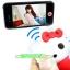 ราคาพิเศษ!! คิตตี้ บลูทูธชัตเตอร์กล้อง รีโมทน่ารัก ควบคุมระยะไกลสำหรับ IOS และ Android โทรศัพท์ Kitty New boy Bluetooth Remote Shutter thumbnail 1
