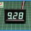 1x Digital DC Voltmeter 0-30 Vdc 3 Wires 0.56 Inch Module (Green Color) thumbnail 5