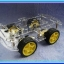 1x Smart Robot Car 4WD Wheel Drive Chassis Kit With 4 Motors and 4 Wheels thumbnail 5