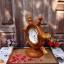 """นาฬิกาไม้สักตั้งโต๊ะ DCL ขนาด 8"""" thumbnail 3"""