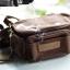 กระเป๋ากล้องขนาดเล็ก Caden F0 สีน้ำตาลเข้ม (Dark Brown) thumbnail 5