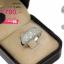 แหวนเงิน ประดับเพชร CZ ดีไซน์ของแหวนดูเลอค่า หน้ากว้างฝังเพชรแวว วาวงามจับใจ คลาสสิกสไตล์เจิดจรัสแบบไร้ที่ติ thumbnail 2