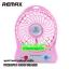 ราคาพิเศษ!! Remax พัดลมมือถือ รุ่นพกพา มีแบ็ตเตอรี่ในตัว ลมแรง เย็นเร็วทันใจ Mini Portable Fan With Built in LI-on Battery thumbnail 6