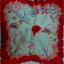 ผ้าพันคอลาย Rose Of Love thumbnail 2