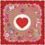 ผ้าพันคอลาย Rose Of Love thumbnail 6