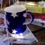 แก้วมักเซรามิกสีน้ำเงินลายดาว thumbnail 2