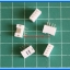 5x Wafer Connector 4 Pins Pitch 2.0 mm Straight Type thumbnail 2