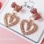 เลือกลายด้านในค่ะ ต่างหูเกาหลี ก้านเงินแท้ 925 Romantic Jewel Korea ER124 thumbnail 10