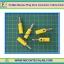 5x Male Banana Plug 4mm Connector Yellow Color thumbnail 1