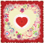 ผ้าพันคอลาย Rose Of Love thumbnail 4