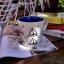 แก้วมักเซรามิคพื้นขาว ลายเรือใบ thumbnail 4
