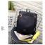 กระเป๋าเป้ Pocket Flap style สีดำ thumbnail 4