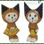 ตุ๊กตาไม้แมวคู่ ชาย-หญิง thumbnail 1