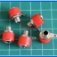 5x Female Red Color 4 mm Banana Jack Connector thumbnail 2