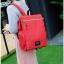 กระเป๋าเป้ Pocket Flap style สีแดง thumbnail 3