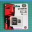 1x Micro SD Memory Card 8 GB + Micro SD Socket Adapter Kingston Warranty by Synnex thumbnail 2