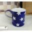 แก้วมักเซรามิกสีน้ำเงินลายดาว thumbnail 9