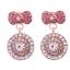 เลือกลายด้านในค่ะ ต่างหูเกาหลี ก้านเงินแท้ 925 Romantic Jewel Korea ER124 thumbnail 12
