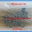 100x Resistor 3.3 KOhm 1/4 Watt 1% Metal film Resistor (100pcs per lot) thumbnail 3